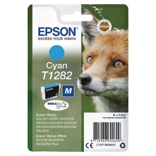 Epson C13T12824012 T1282 Cyan Ink 3.5ml