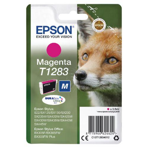 Epson C13T12834012 T1283 Magenta Ink 3.5ml