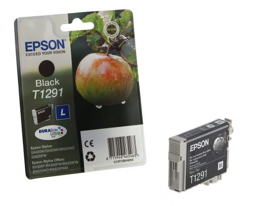 Epson C13T12914012 T1291 Black Ink 11ml