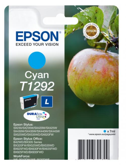 Epson C13T12924012 T1292 Cyan Ink 7ml