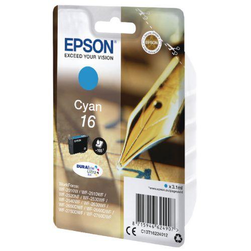 Epson C13T16224012 16 Cyan Ink 3ml