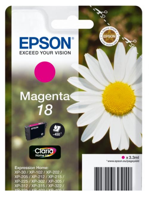Epson C13T18034012 18 Magenta Ink 3ml