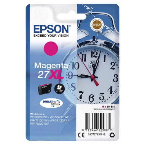 Epson C13T27134012 27XL Magenta Ink 10ml