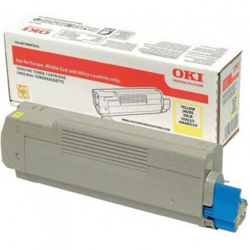 OKI 46508713 Yellow Toner 1.5K