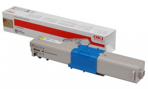 OKI 46490401 Yellow Toner 1.5K