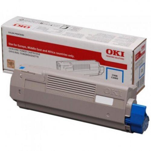 OKI 46490403 Cyan Toner 1.5K