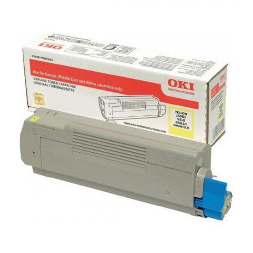 OKI 46507505 Yellow Toner 6K
