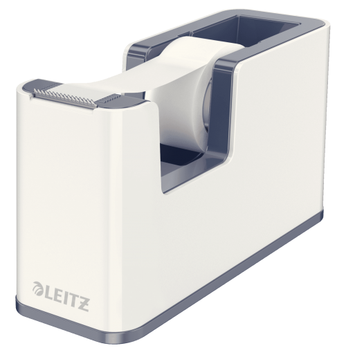 Leitz WOW Duo Colour Tape Dispenser White 53641001 (PK1)
