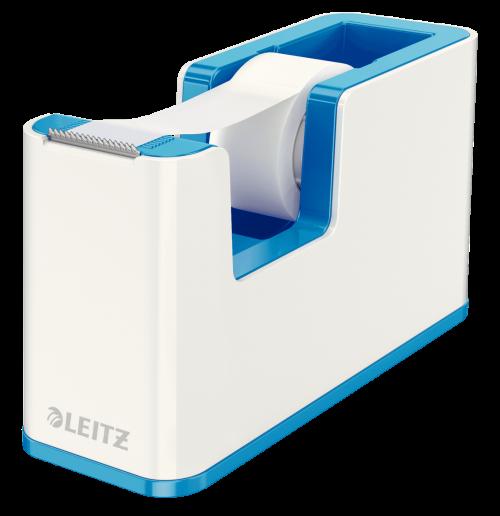 Leitz WOW Duo Colour Tape Dispenser Blue 53641036 (PK1)