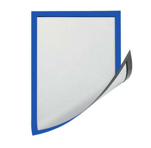 Magiboards Solo Magnetic Paper Holders A4 Blue PK12