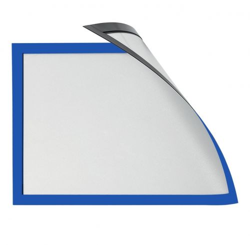 Magiboards Solo Magnetic Paper Holders A3 Blue PK6