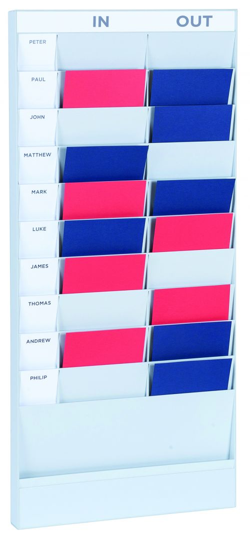 Fast Paper A4 20 Compartment Document Planner Starter Set