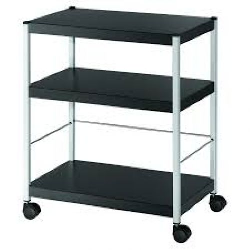 Fast Paper Mobile 3 Shelf Trolley Medium