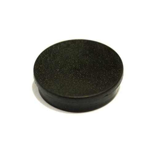 Bi-Office Round Magnets 10mm Black PK10