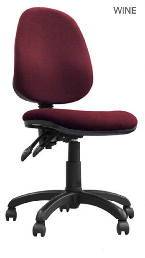 Java 200 High Back Operator Chair Red