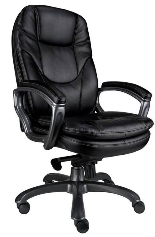Kiev Leather Executive Chair Black