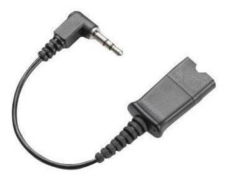 Plantronics Spare Cable Assy Coil Cord 10Ft 2.5 mm QD