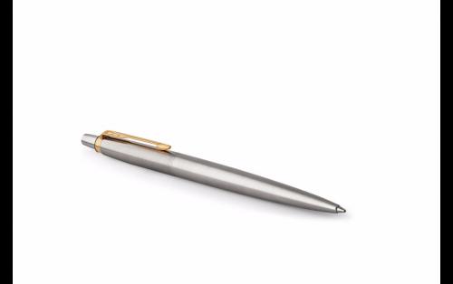 Parker Jotter Stainless Steel Gold Trim Ball Pen Gift Box