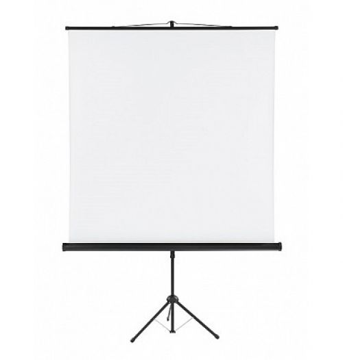 Tripod Projection Screen X-tra!Line® Format 1:1 Screen Size 150 x 150cm