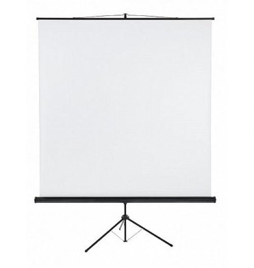 Tripod Projection Screen X-tra!Line® Format 1:1 Screen Size 220 x 220cm