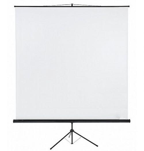 Tripod Projection Screen X-tra!Line® Format 1:1 Screen Size 240 x 240cm