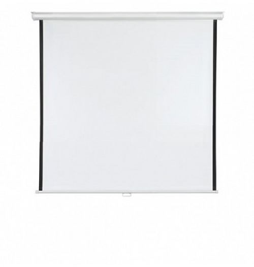 Roll-up Screen X-tra!Line® Format 1:1 Screen Size 150 x 150cm Outer Size 156 x 150cm