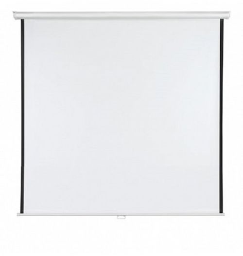 Roll-up Screen X-tra!Line® Format 1:1 Screen Size 180 x 180cm Outer Size 186 x 180cm