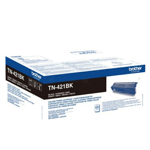 Brother TN421BK Black Toner 3K