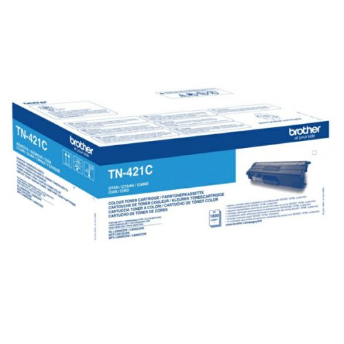 Brother TN421C Cyan Toner 1.8K