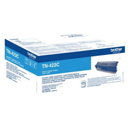 Brother TN423C Cyan Toner 4K