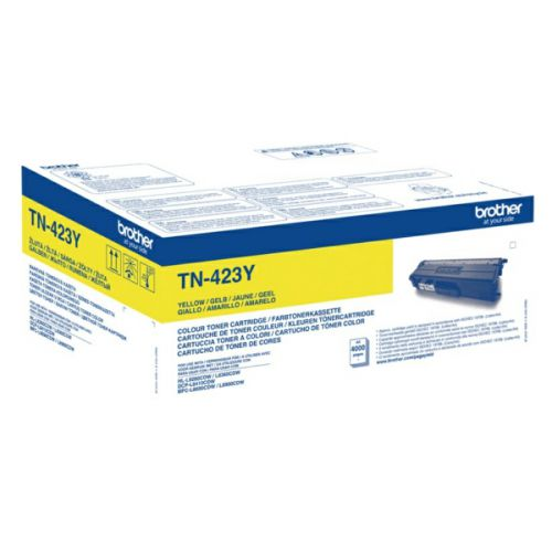 Brother TN423Y Yellow Toner 4K