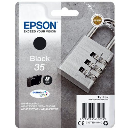 Epson C13T35814010 35 Black Ink 16ml