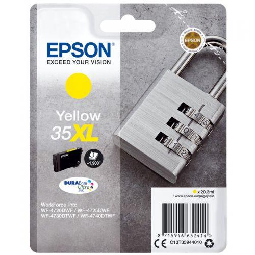 Epson C13T35944010 35XL Yellow Ink 20ml