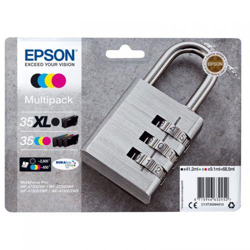 Epson C13T35964010 35XL Black Colour Ink 41ml 3x20ml Multi