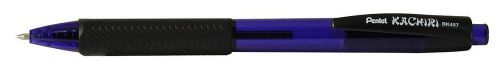 Pentel Kachiri Retractable Ballpen Dark Blue PK12