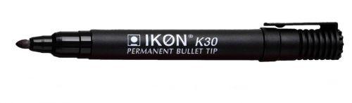 Value Permanent Marker Bullet Tip Black (PK10)