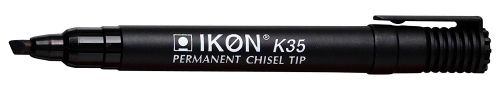 Value Permanent Marker Chisel Tip Black (PK10)