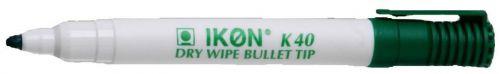 Value Dry Wipe Marker Bullet Tip Green (PK10)