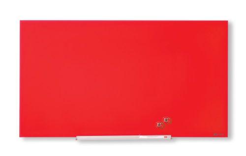 Nobo Diamond Glass Red Board 1883x1059mm