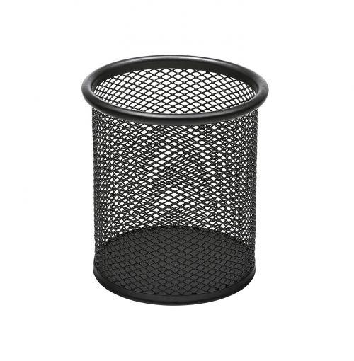 Osco Mesh Pen Pot (Black) Single
