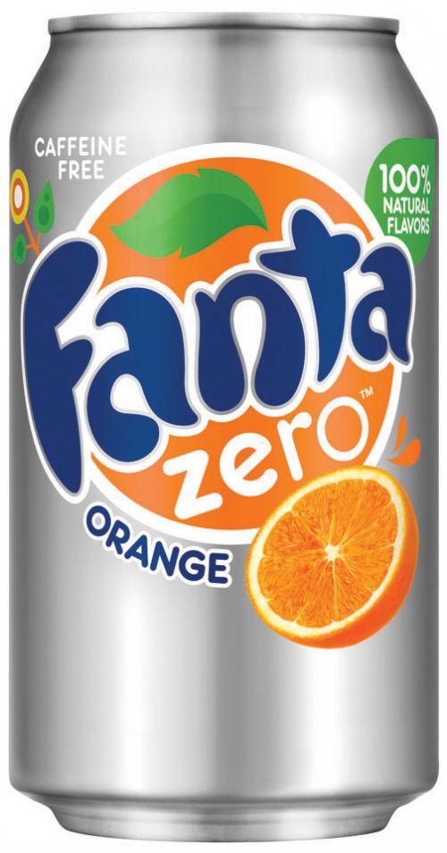 Fanta Zero 330ml Cans (Pack 24)
