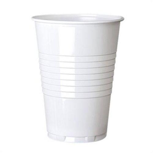 ValueX 7oz Plastic White Vending Cups (Pack 100)