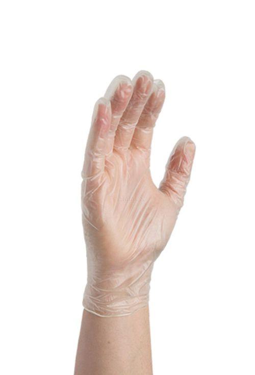 Value Clear Vinyl Glove Powder Free Medium (Pack 100)