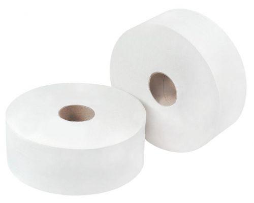 OMG White Jumbo Toilet Rll 300m (Pack 6)