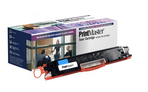 PrintMaster HP Cyan Toner CP1025