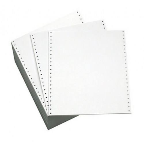 Value Listing Paper 11 x 241 70gsm Plain Perforated BX2000