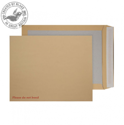 Blake Purely Packaging Board Backed Pocket Envelope C3 Peel and Seal 120gsm Manilla (Pack 50)