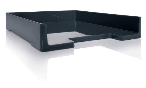 Sigel Letter Tray Eyestyle for A4 268x50x333mm Dark Grey