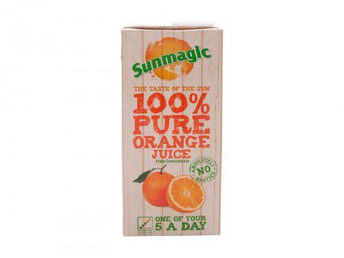 Sunmagic Tetra Pak Slim Orange 1L PK12