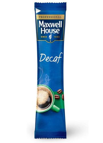 Maxwell House Instant Decaffeinated Coffee Powder Sticks (Pack 200)